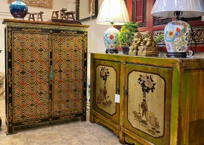 Chinese painted furniture