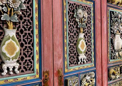 Chinese antique door panels